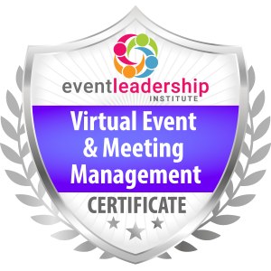 Virtual Event & Meeting Management Certification