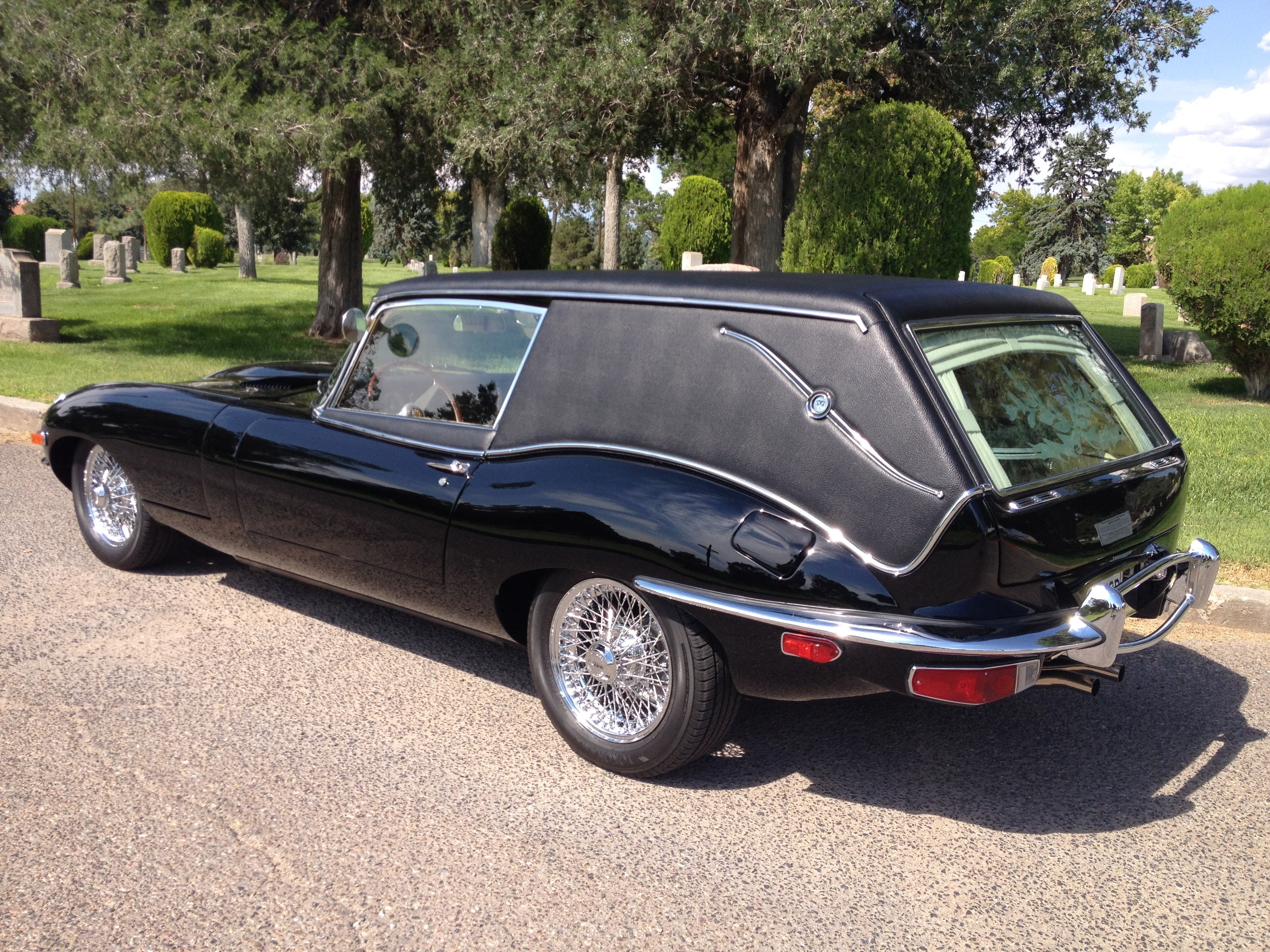 Have Everything How About A Final Ride In A Jaguar Hearse American Academy Of Estate