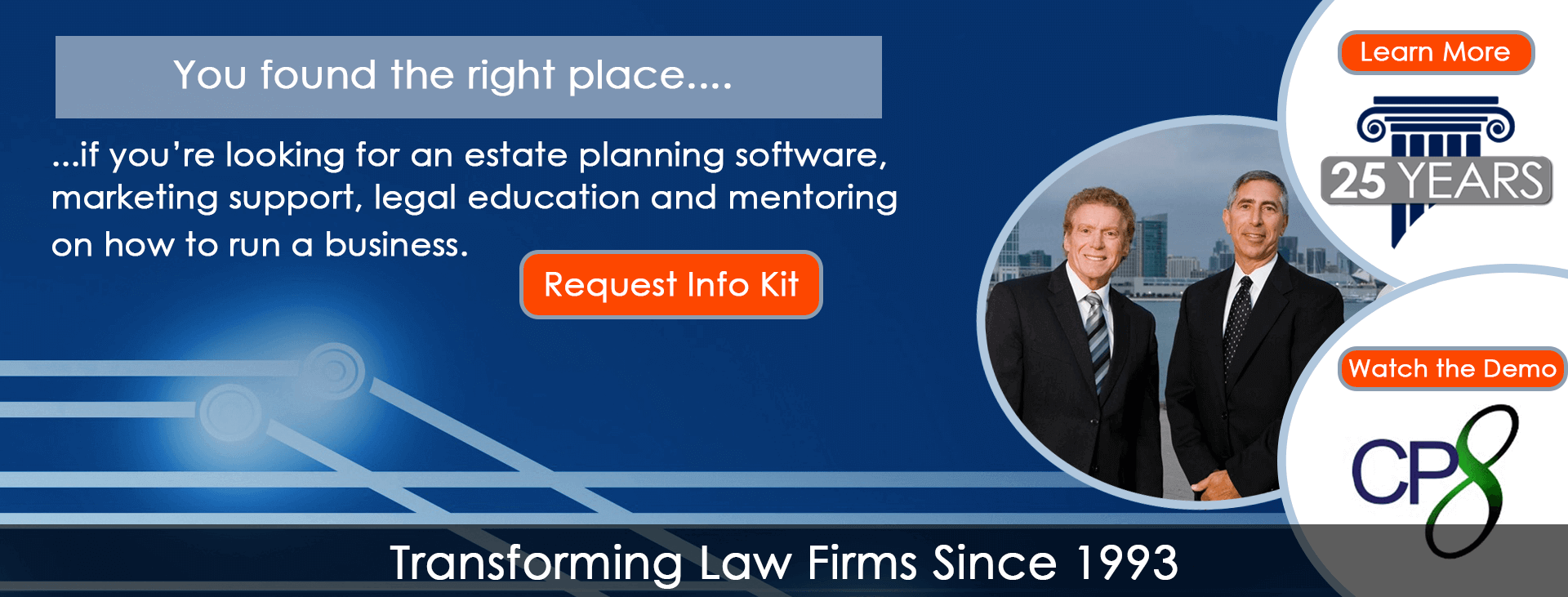 You fine the right place...  if you are looking for an estate planing software, marketing support, legal education and mentoring on how to run business.