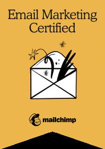 Mailchimp Email Marketing Certification