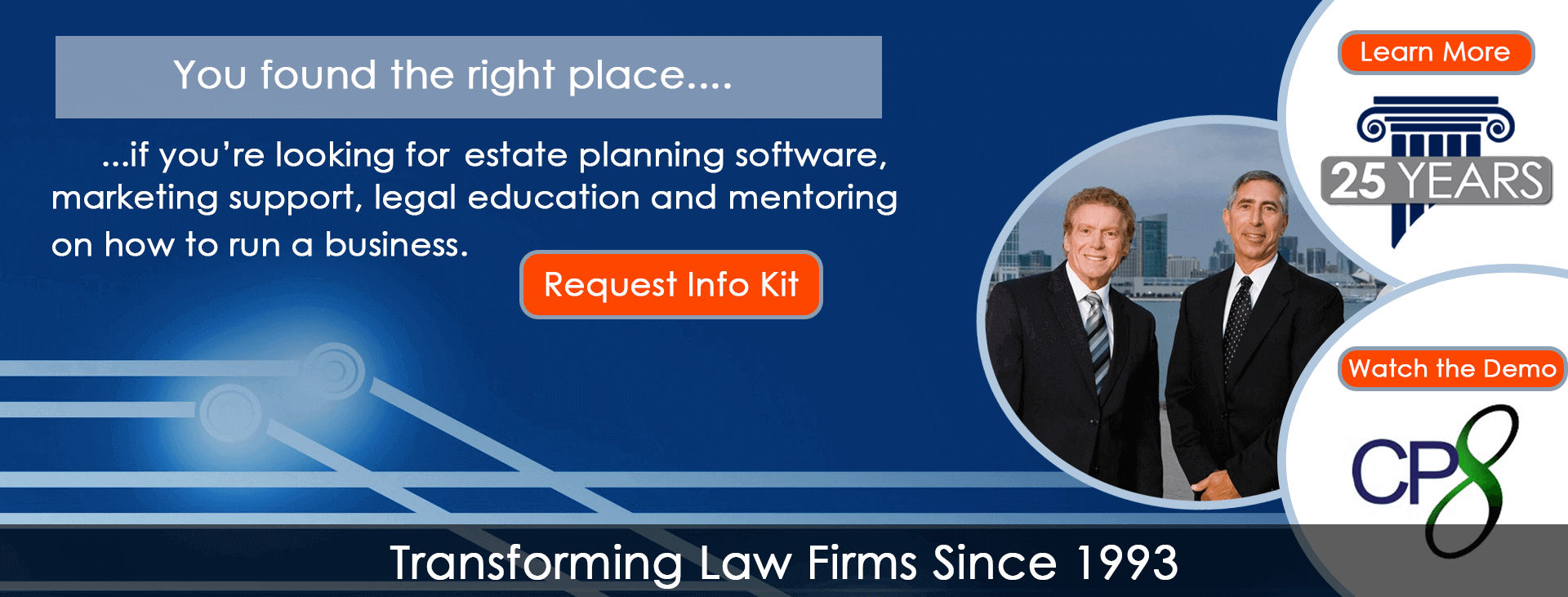 You fine the right place...  if you are looking for estate planing software, marketing support, legal education and mentoring on how to run business.